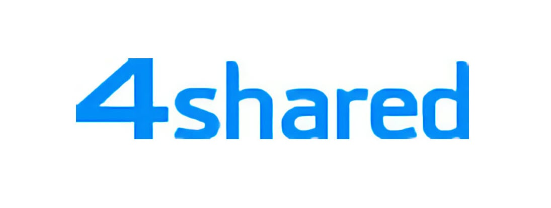 4shared file sharing logo