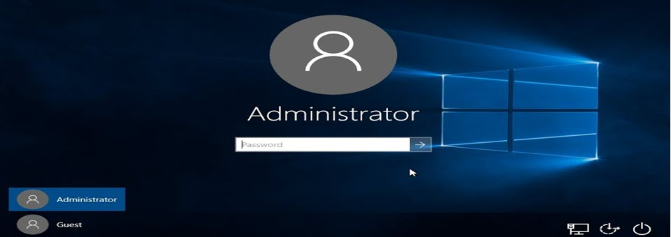 administrator login