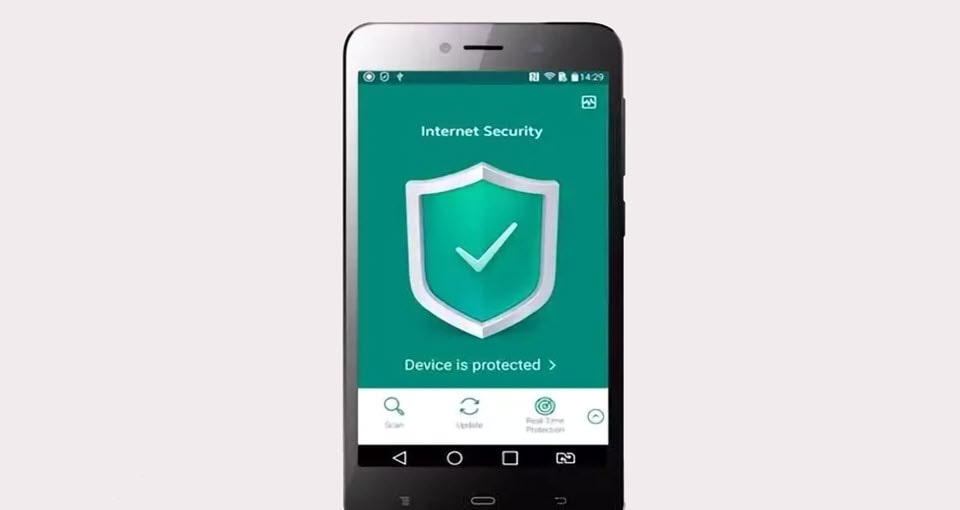 Use the mobile antivirus app