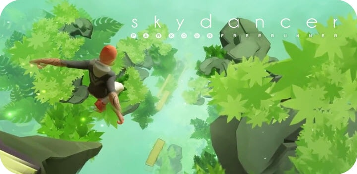 Sky Dancer Run - Running Game