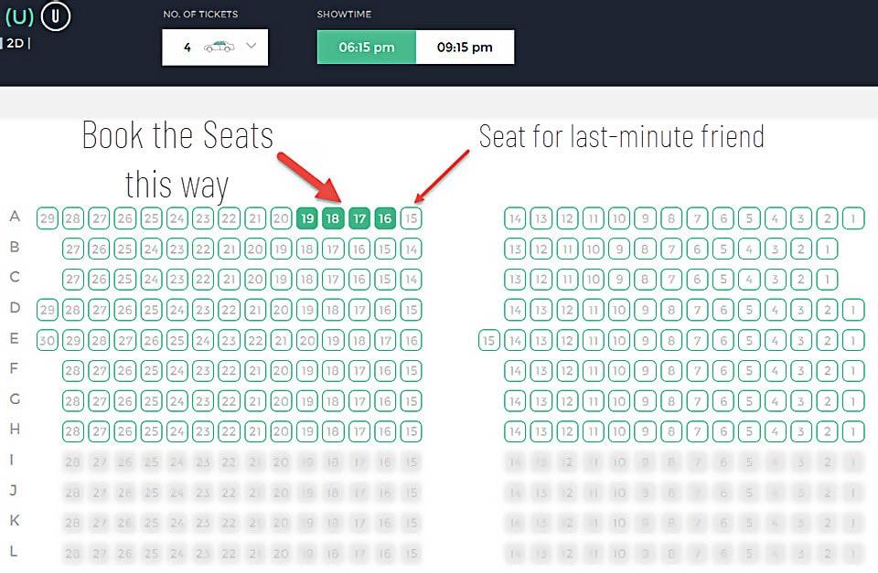 Smart tickets booking way